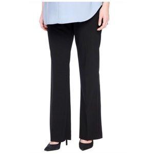 Liz Lange Maternity Straight Leg Black Dress Pants